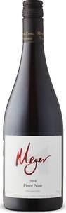 Meyer Okanagan Valley Pinot Noir 2018, BC VQA Okanagan Valley Bottle