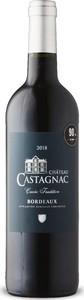 Château Castagnac 2018, Ac Bordeaux Supérieur Bottle