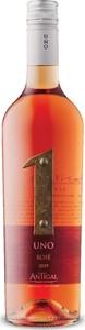 Antigal Uno Rosé 2019, Sustainable, Mendoza Bottle
