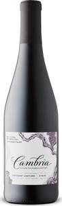 Cambria Tepusquet Vineyard Syrah 2015, Santa Maria Valley, Santa Barbara County Bottle