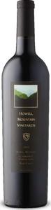 Howell Mountain Vineyards Cabernet Sauvignon 2012, Howell Mountain, Napa Valley, Usa Bottle