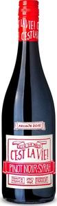 C'est La Vie! Pinot Noir Syrah 2019, I.G.P. Pays D'oc Bottle