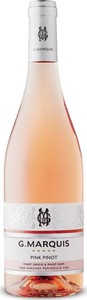 G. Marquis The Silver Line Pink Pinot Rosé 2020, VQA Niagara Peninsula Bottle