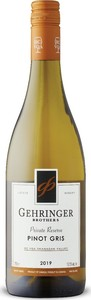 Gehringer Brothers Private Reserve Pinot Gris 2019, BC VQA Okanagan Valley Bottle