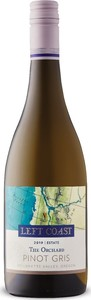 Left Coast The Orchard Pinot Gris 2019, Sustainable, Willamette Valley Bottle