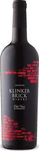 Klinker Brick Old Vine Zinfandel 2016, Lodi Bottle