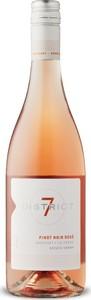 District 7 Pinot Noir Rose 2020, Monterey County Bottle