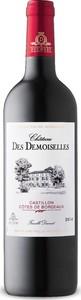 Château Des Demoiselles 2014, Ac Castillon Côtes De Bordeaux Bottle