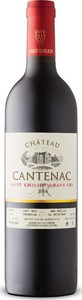 Château Cantenac Saint Émilion Grand Cru 2016, A.C.  Bottle