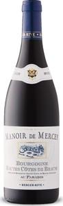 Manoir De Mercey Au Paradis 2018, Ac Bourgogne Haut Côtes De Beaune Bottle