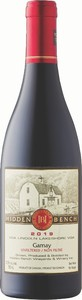 Hidden Bench Gamay Unfiltered 2019, VQA Lincoln Lakeshore Bottle