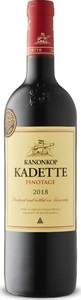 Kanonkop Kadette Pinotage 2018, W.O.  Bottle