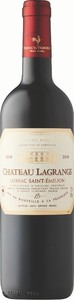 Château Lagrange 2018, A.C. Lussac Saint émilion Bottle