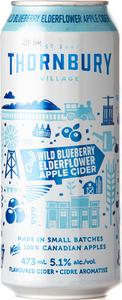 Thornbury Wild Blueberry Elderflower Apple Cider (473ml) Bottle