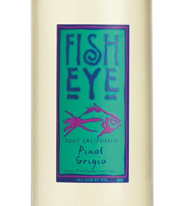 Fish eye pinot grigio 2007 expert wine ratings and wine for Fish eye pinot grigio