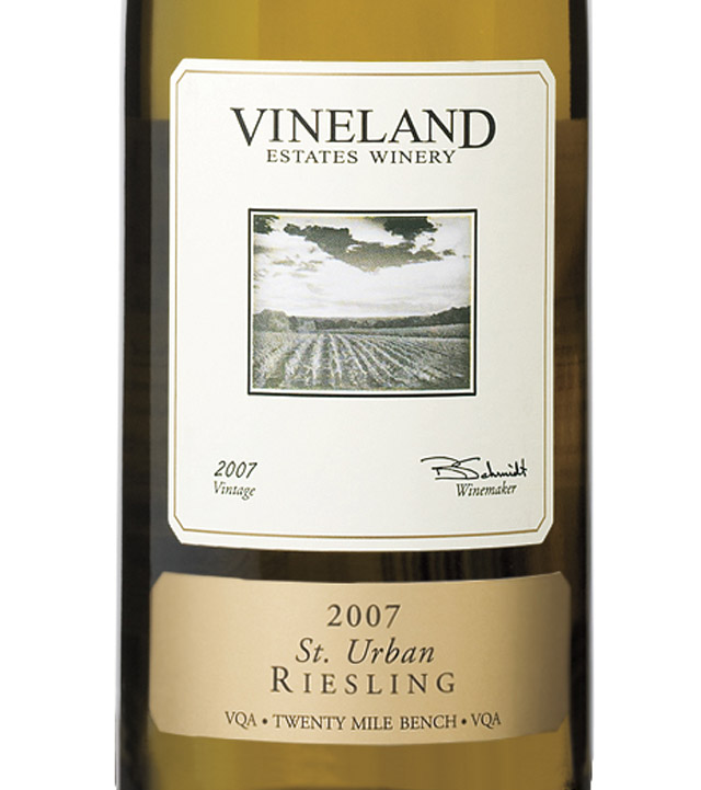 Vineland Estates St Urban Riesling 2007 Expert Wine