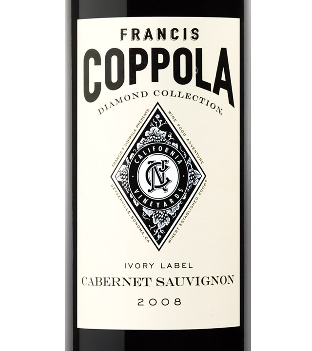 This is a picture of Adorable Coppola Claret 2009 Black Label