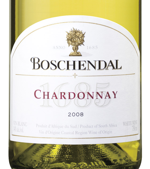 Boschendal 1685 chardonnay 2008 expert wine ratings and for Boschendal wine