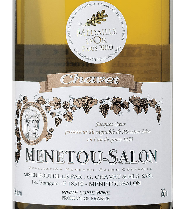 Chavet menetou salon blanc 2009 expert wine ratings and for Menetou salon 2012