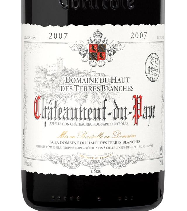 Domaine-Du-Haut-Des-Terres-Blanches-Chateauneuf-Du-Pape-2007-Label.jpg