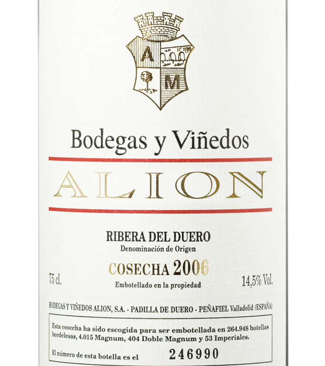 Image result for bodegas y vinedos alion