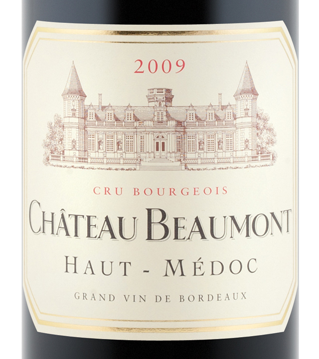 Ch teau beaumont 2009 expert wine ratings and wine for Chateau beaumont