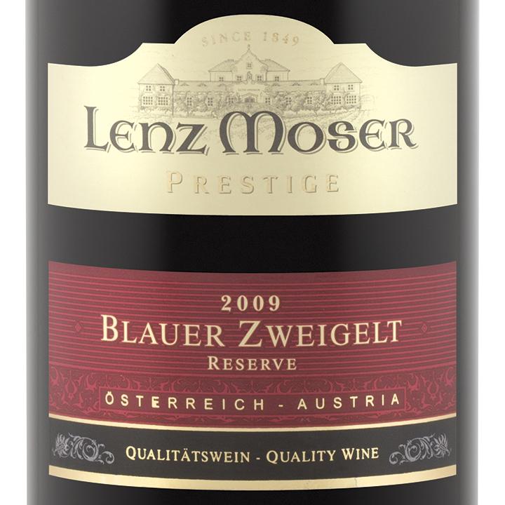 Lenz Moser Blauer Zweigelt