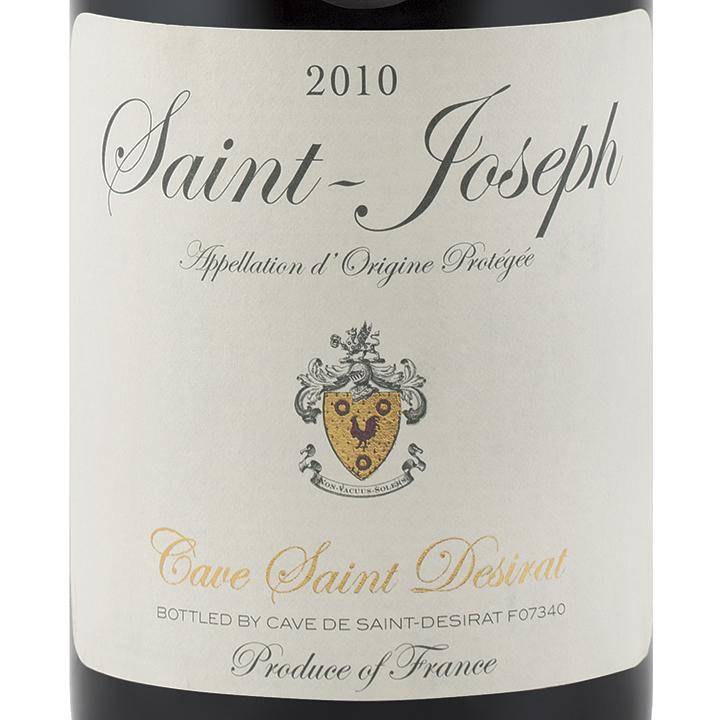 l'esprit du vin - Page 2 Saint-Desirat-Saint-Joseph-2010-Label