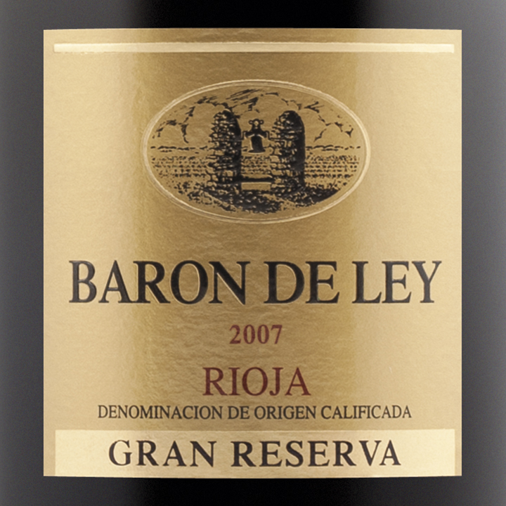 baron de ley gran reserva 2007 expert wine ratings and. Black Bedroom Furniture Sets. Home Design Ideas